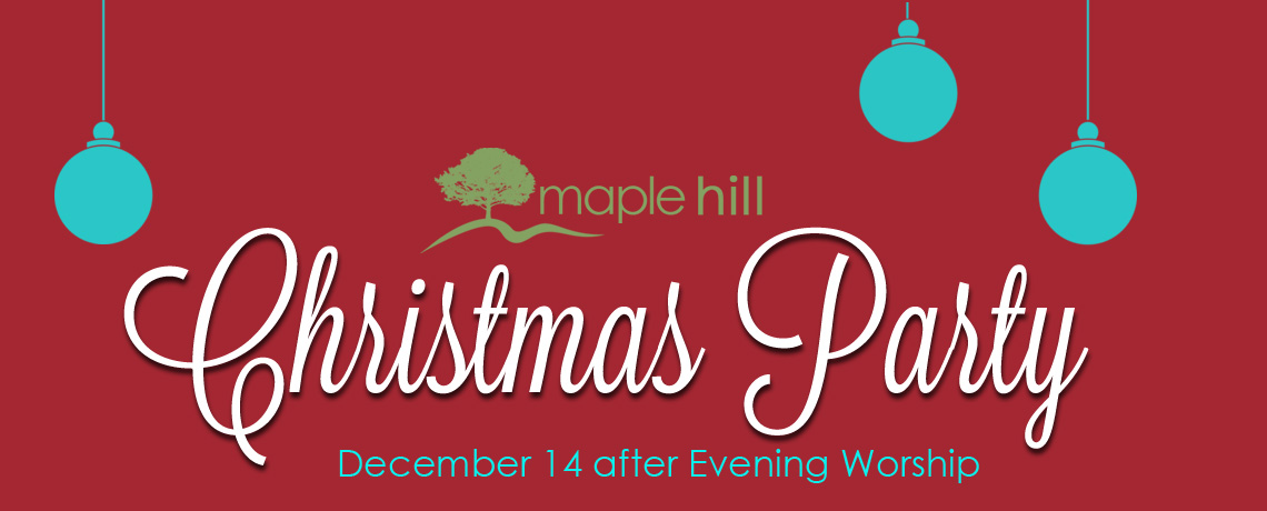 Maple Hill Christmas Party 2014