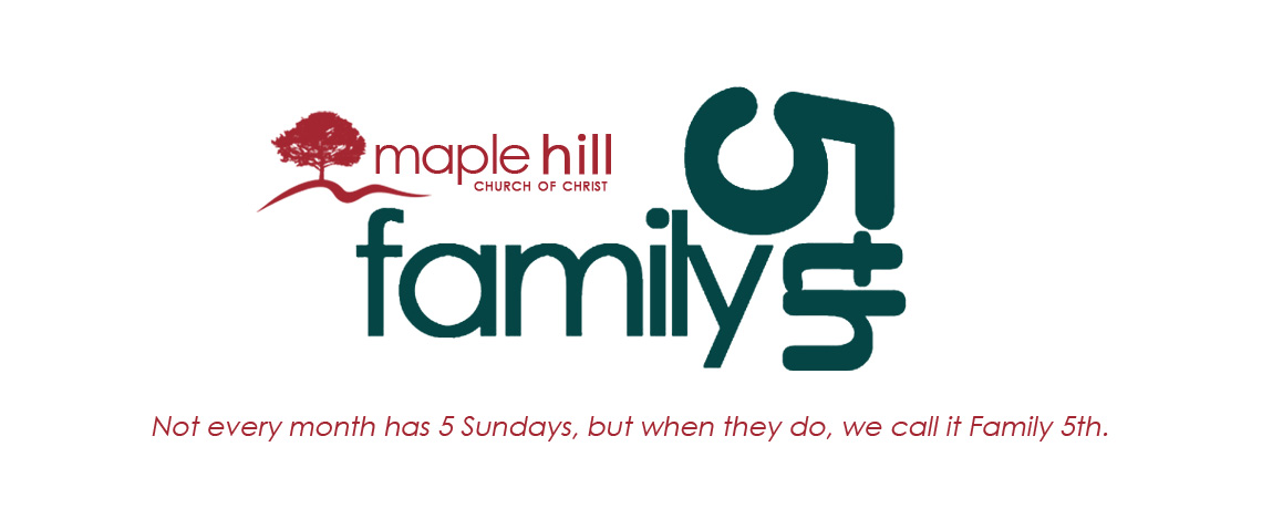Family 5th ~ Sunday, March 29, 2015