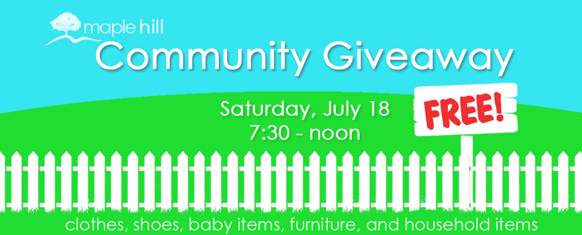 Community Giveaway 2015