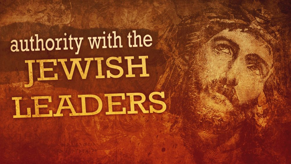 Authority with Jewish Leaders Image