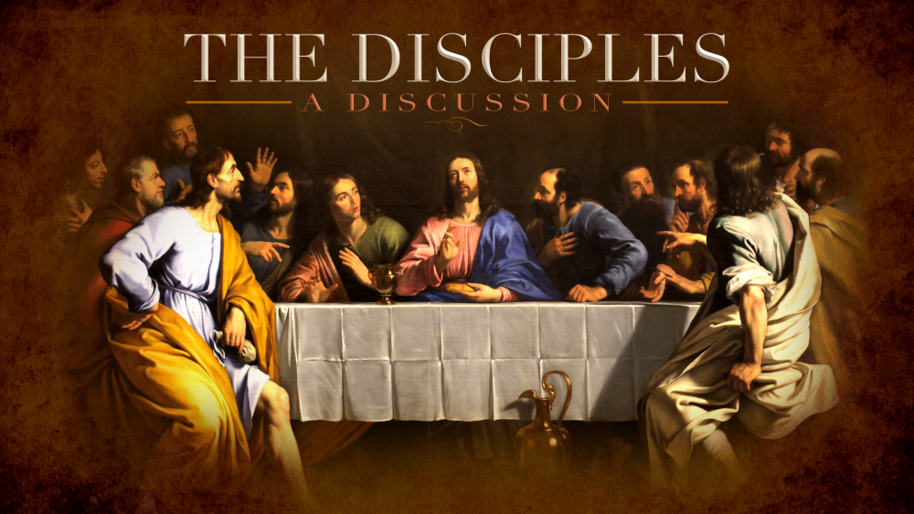 A Discussion with the Disciples Image