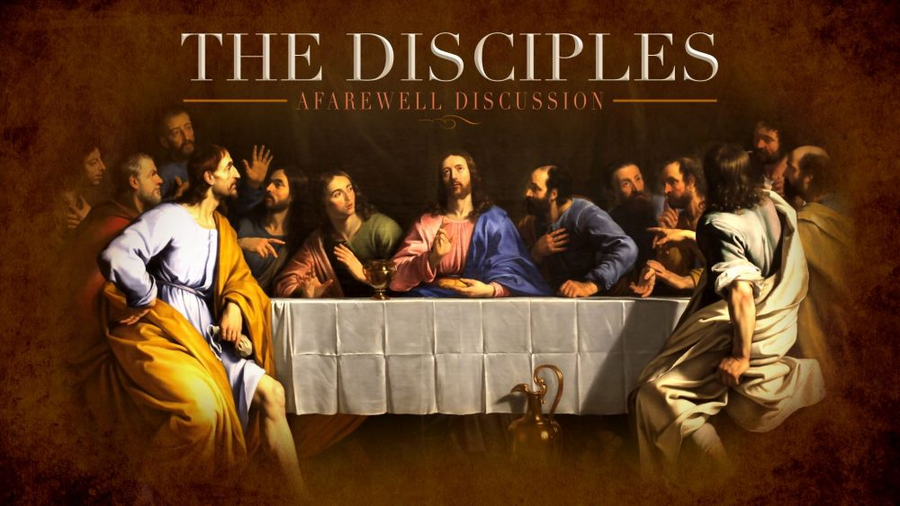 A Farewell Discussion with the Disciples Image