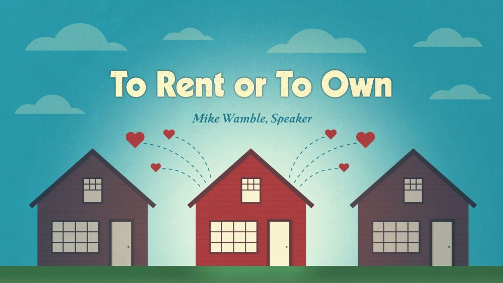 To Rent or To Own Image