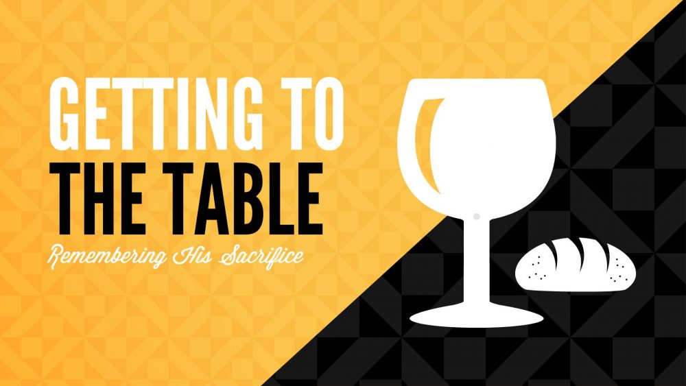 Getting to the Table Image