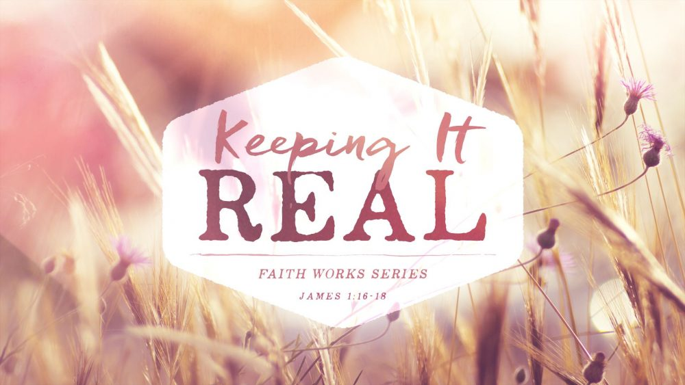 Faith Works: Keeping It Real Image