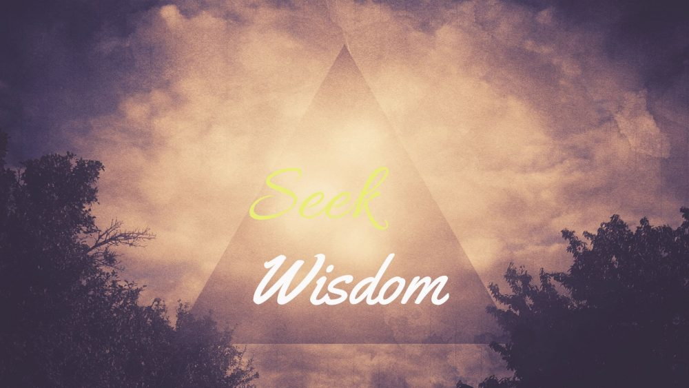 FaithWoks: Seek Wisdom Image