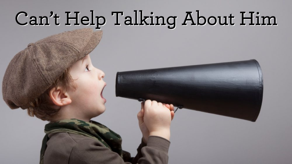 Can\'t Help Talking About Him Image