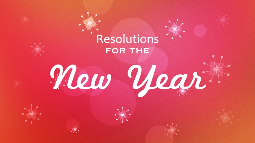 Resolutions for the New Year Image