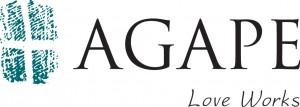 PRIMARY AGAPE LOGO--Horizontal with tagline