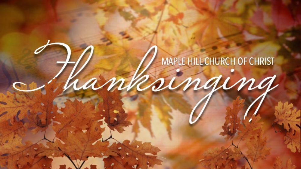 2nd Annual Thanksinging Image