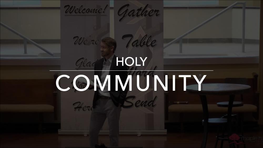 Holy Community Image